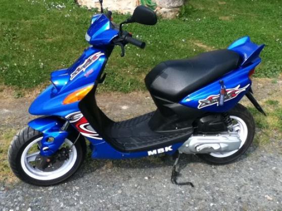 scooter MBK rocket booster