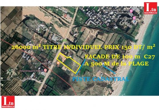 Annonce occasion, vente ou achat 'Terrain Sur Route Principale 3M492'