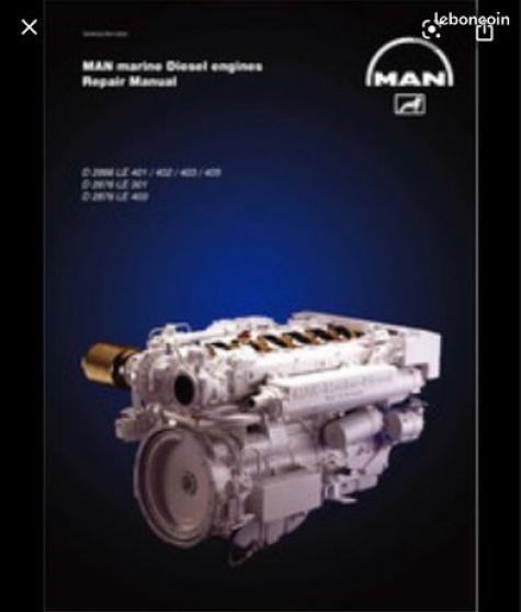Annonce occasion, vente ou achat 'moteurs MAN D2866 LXE 43'