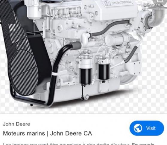 Annonce occasion, vente ou achat 'Moteur marin John Deere 6068 SFM 50'