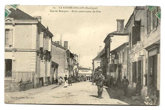 LA ROCHE-CHALAIS (24) - Rue de Montpon