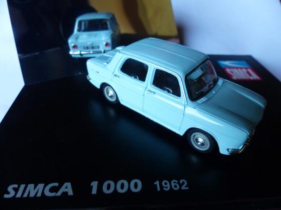SIMCA 1000 1962 NOREV 1/43ème