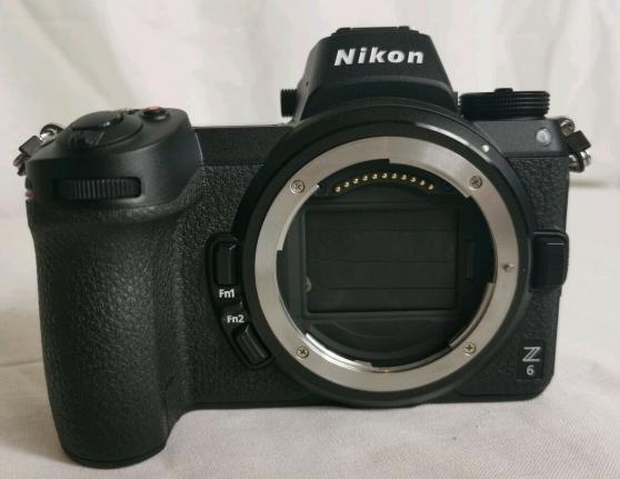 Nikon Z6 24mp avec FTZ kit adaptateur