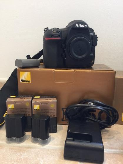 Nikon D850 avec 9500 clics