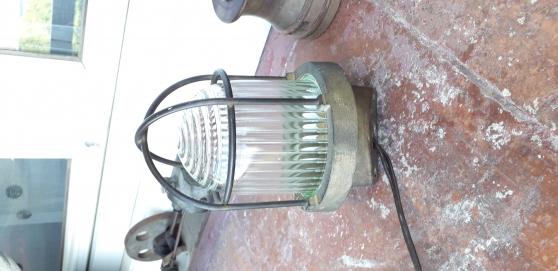 Lampe de coursive en laiton - Photo 2