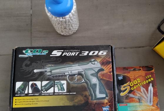 WinGun - Sport 306 Airgun - Full Metal -
