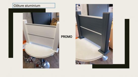 Clôture en aluminium à bas prix