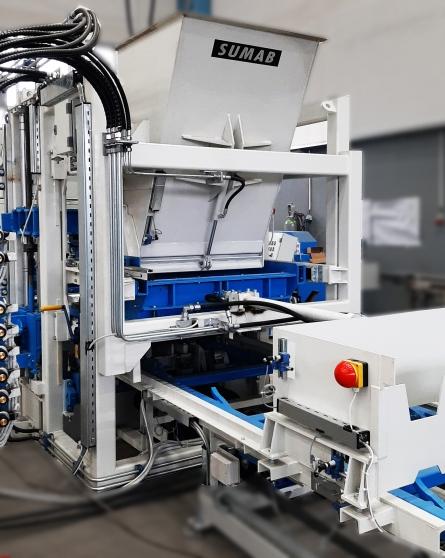 La machine bloc SUMAB R 400