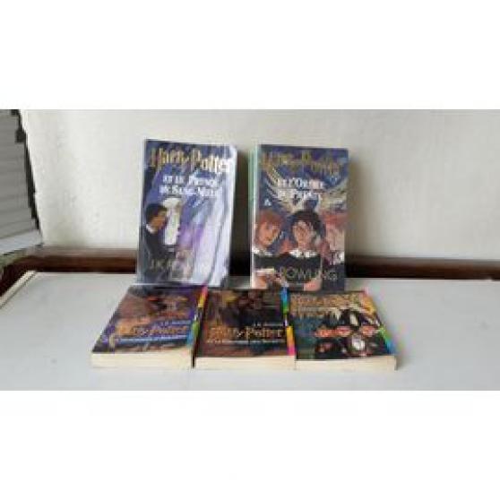 Annonce occasion, vente ou achat 'collection harry potter livres en lot'