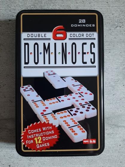 5 Boites jeu de Domino dominos 28 pièce