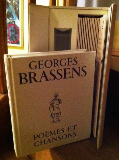 """Coffret """"Georges Brassens Poèmes et chan"""