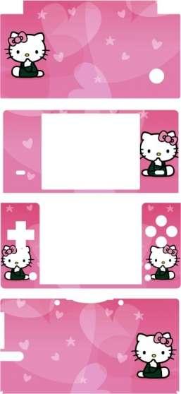 stickers pour dsi hello kitty, 2 modèles