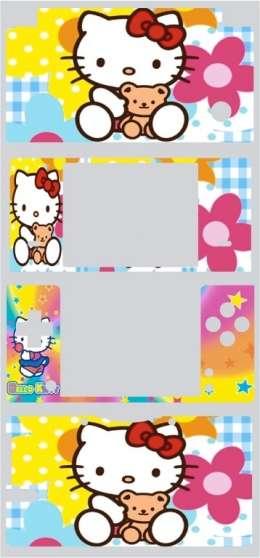 stickers pour dsi hello kitty, 2 modèles - Photo 2