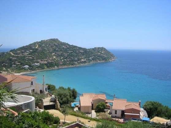 Villa 130m2 en Sardaigne, super vue mer