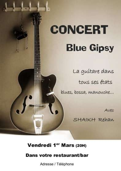 CONCERTS, animations musicales, Blues, J - Photo 4