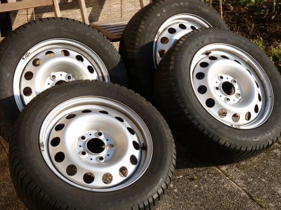 roues d'hiver (Mini Countryman)
