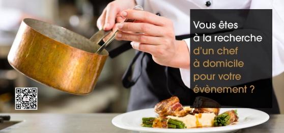 Chef - Cuisinier à domicile
