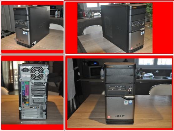 Petite Annonce : Acer extensa e261 - Vend PC de bureau Acer Extensa E261 d\'occasion en TBE de marche,