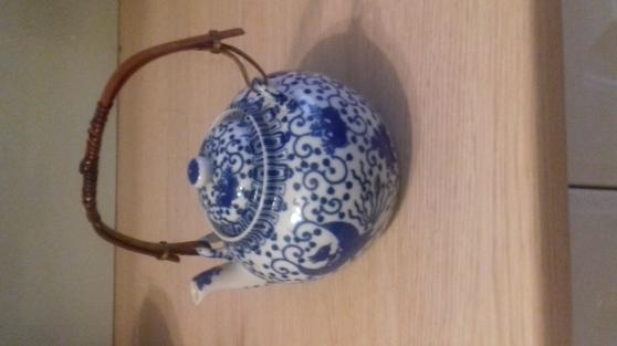 Théière en porcelaine de chine