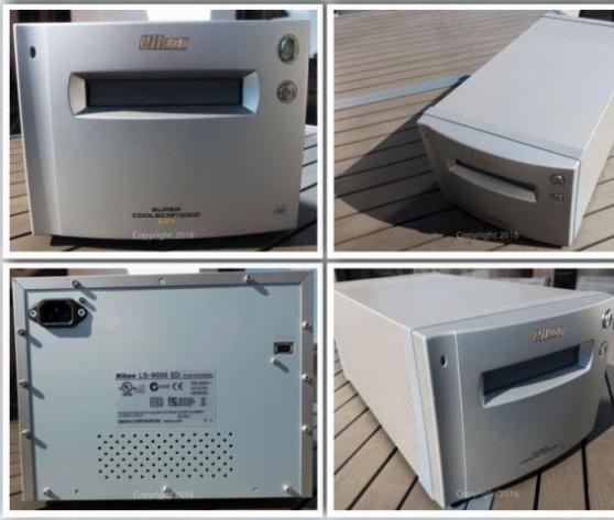 Annonce occasion, vente ou achat 'SCANNER NIKON COOLSCAN 9000 + 3 porte-fi'
