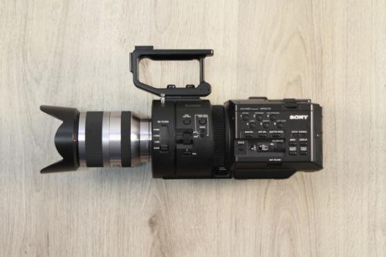 Annonce occasion, vente ou achat 'Sony NEX-FS700 18-200mm f + 3 verres + v'