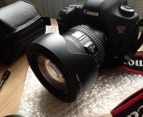 Annonce occasion, vente ou achat 'Canon eos 5D mark III + 24-105mm f/4 L I'
