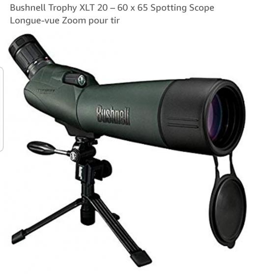 Annonce occasion, vente ou achat 'Longue vue Bushnell 20-60x65 XLT'