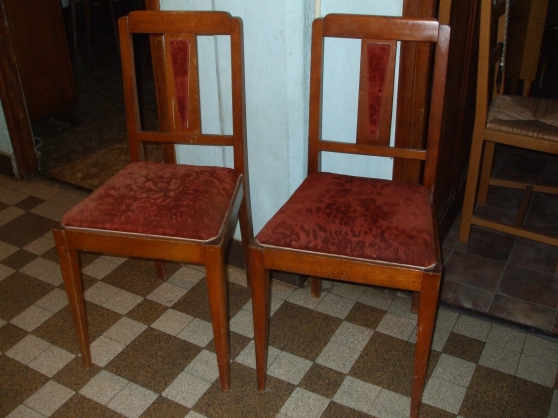 2 chaises anciennes