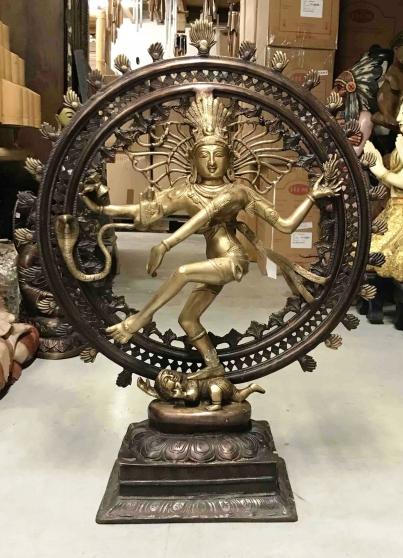 Grande roue de Shiva NATARAJA en bronze