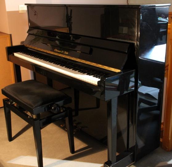 Piano Droit OBERMANN and Sohn 118 Noir