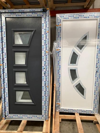 PROMO Porte d'entrée PVC/ALU
