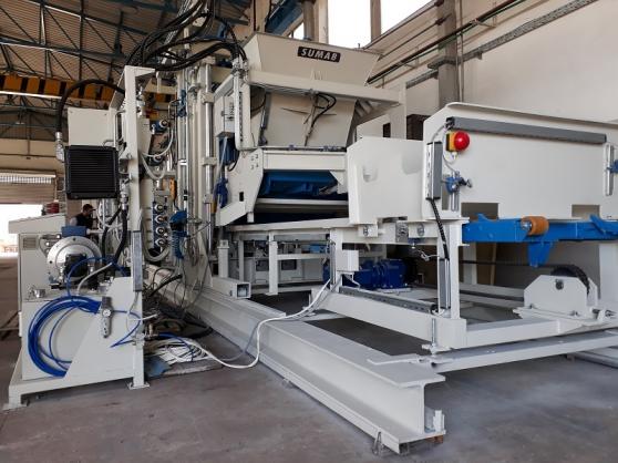 La machine bloc SUMAB R 500