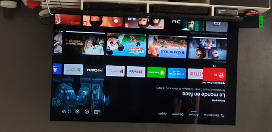 Annonce occasion, vente ou achat 'tv sony oled 4k 165 cm'