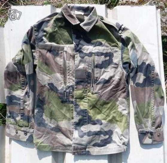 Pantalon et veste treillis militaire - Treillis militaire occasion ...