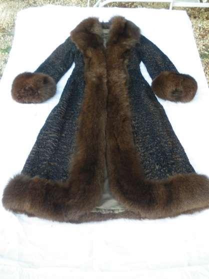 manteau véritable fourrure