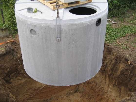 Cuve stockage d'eau (3000L)