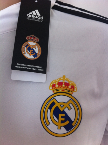 Maillot Real Madrid Saison 2014/2015 Flo - Photo 3