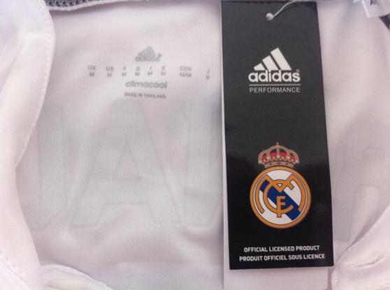 Maillot Real Madrid Saison 2014/2015 Flo - Photo 4