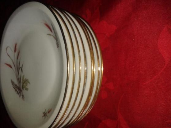 Annonce occasion, vente ou achat '8 assiette en porcelaine'