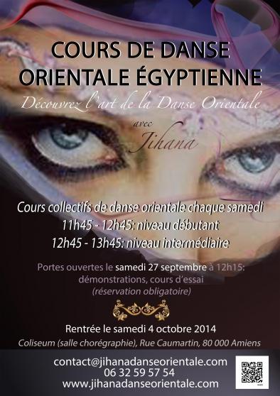 Cours DANSE ORIENTALE Amiens Saison 2014