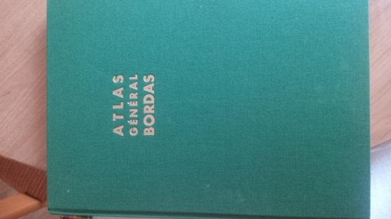 Annonce occasion, vente ou achat 'Vieux atlas général bordas'
