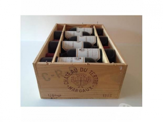 Annonce occasion, vente ou achat 'Grands crus Margaux 1988/1985+H.Medoc86'