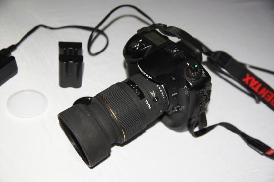 Reflex Pentax K10D + 105 mm 2.8 ...