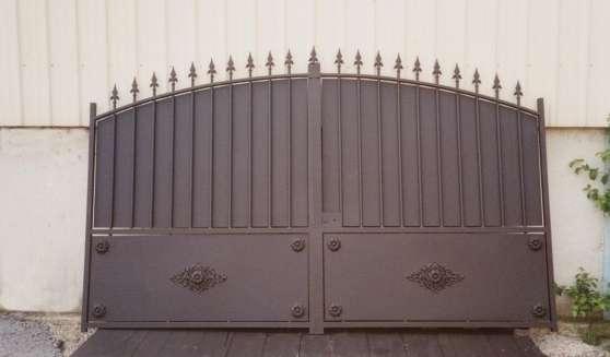 Portail Fer Artisanl Modèle Baltazar