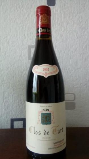 Annonce occasion, vente ou achat 'caisse 6 bouteilles CLOS DE TART 2002'