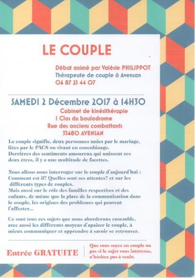 café débat le couple - Annonce gratuite marche.fr
