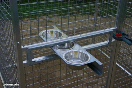 Volière neuve Aluminium 200 x 100 x 200