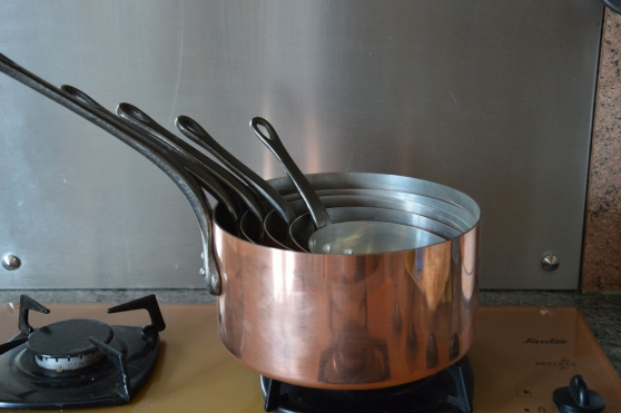 6 casseroles en cuivre - Annonce gratuite marche.fr