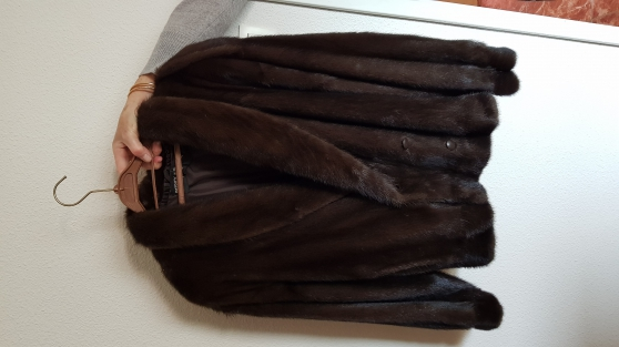 Annonce occasion, vente ou achat 'veste + col vison'