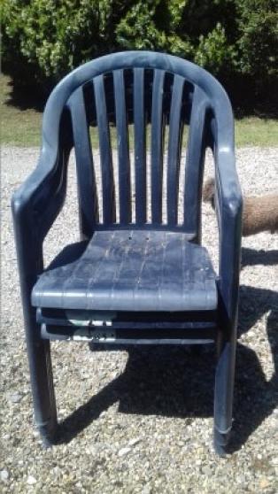 4 fauteuils jardin